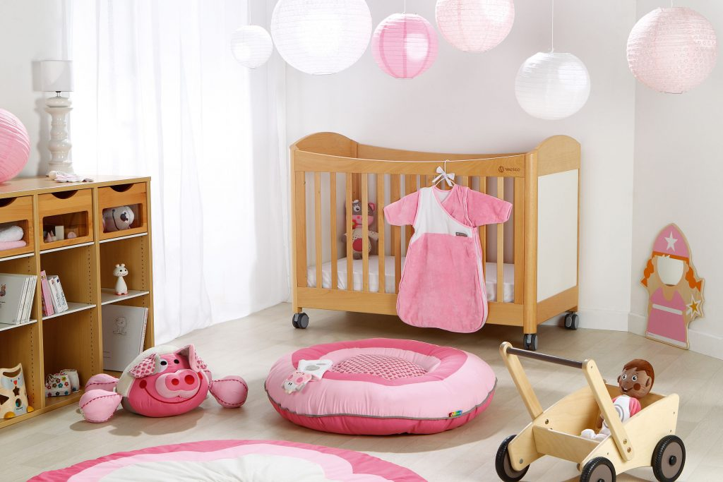 aménager une chambre bébé sécurisée