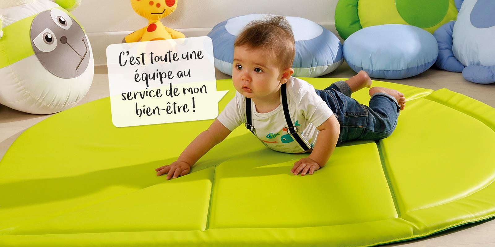 Creation D Un Produit Wesco Le Tapis De Motricite Feuille Le