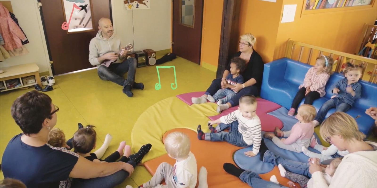 musique avec les enfants