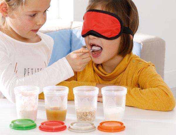 education des enfants à une alimentation saine et équilibrée