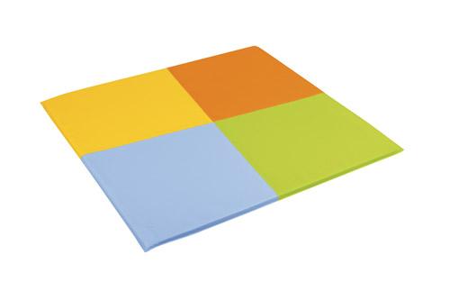 Tapis de motricité quatre couleurs Wesco