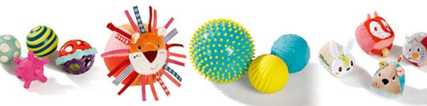 Les bienfaits des jeux de balles sensorielles pour les bébés