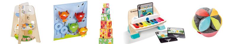 quelques exemples de jouets d'éveil Wesco