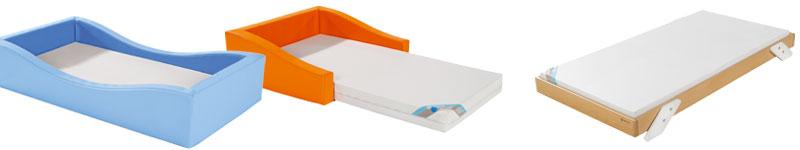 Lit bas compatibles Montessori Wesco
