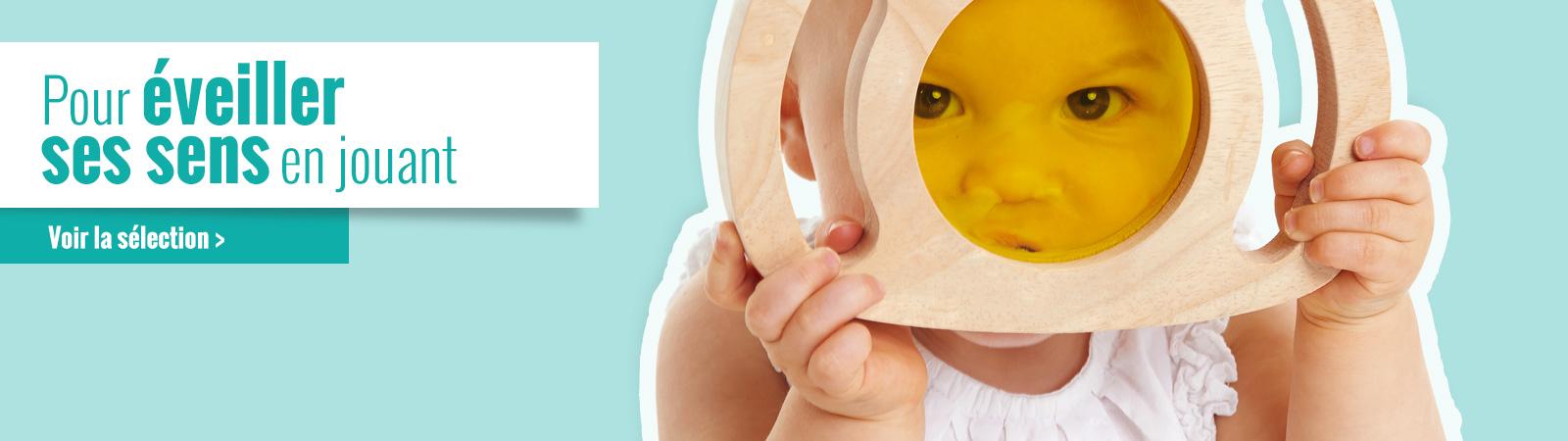 La sélection Wesco de jeux et jouets pour l'éveil sensoriel des bébés