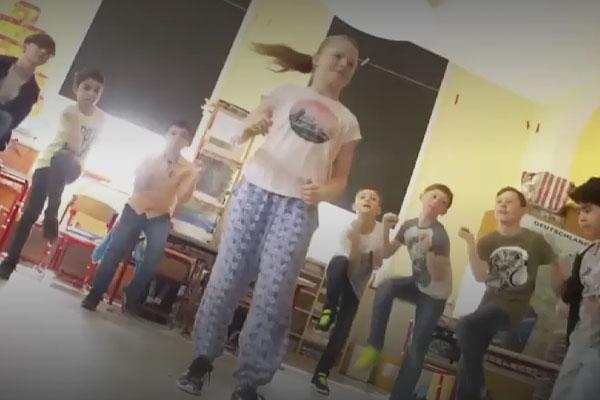 Découvrir la danse pour développer la créativité des enfants avec Wesco