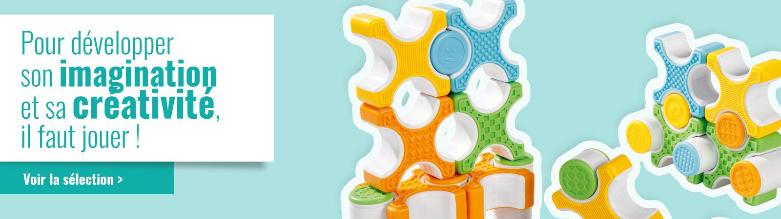 Développez l'imagination et la créativité des enfants avec les jeux de construction Wesco