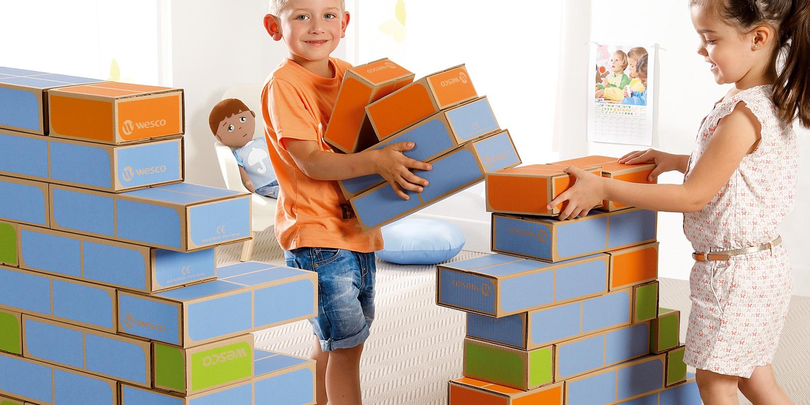Choisir le jeu de construction pour votre enfant de 21 mois, 18 mois, 3 ans, 6 ans avec Wesco