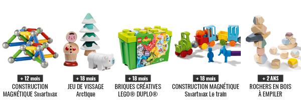 Wesco, les jeux de construction pour les bébés à partir de 18 mois