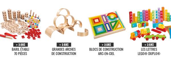 Wesco, jeux de construction pour les enfants à partir de 3 à 4 ans