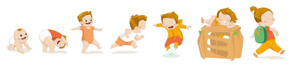 Comment accompagner le développement de son enfant avec les périodes sensibles Montessori ?